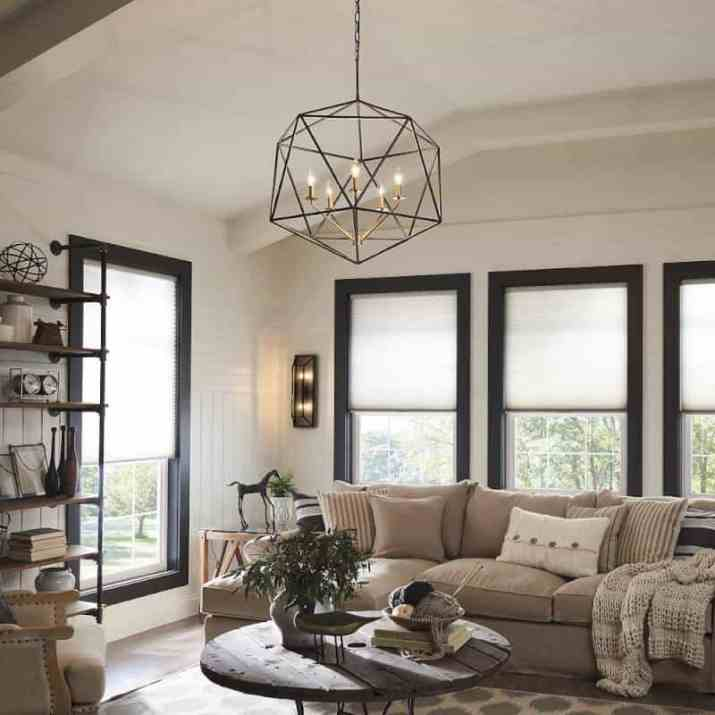 old styled Vaulted Ceiling Lighting Ideas Design