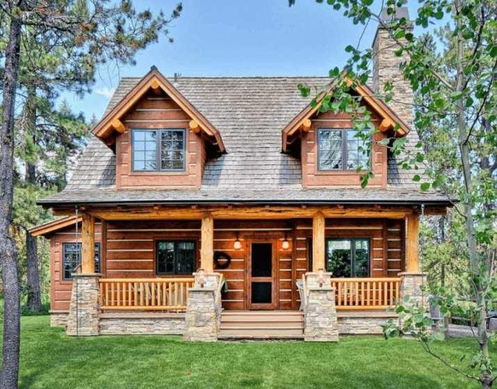 Log House Style