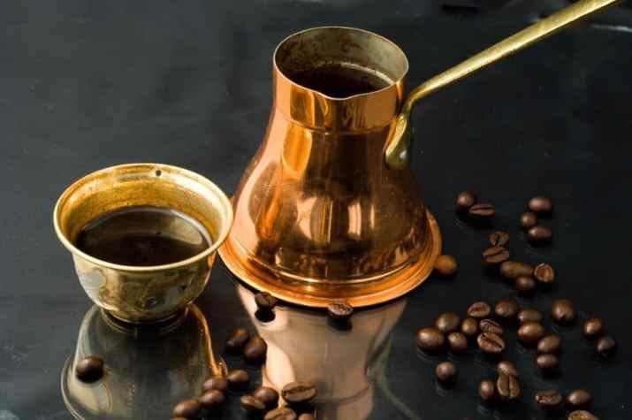 Ibrik coffee maker