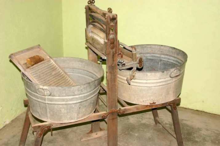 The First Model of Washing Machines