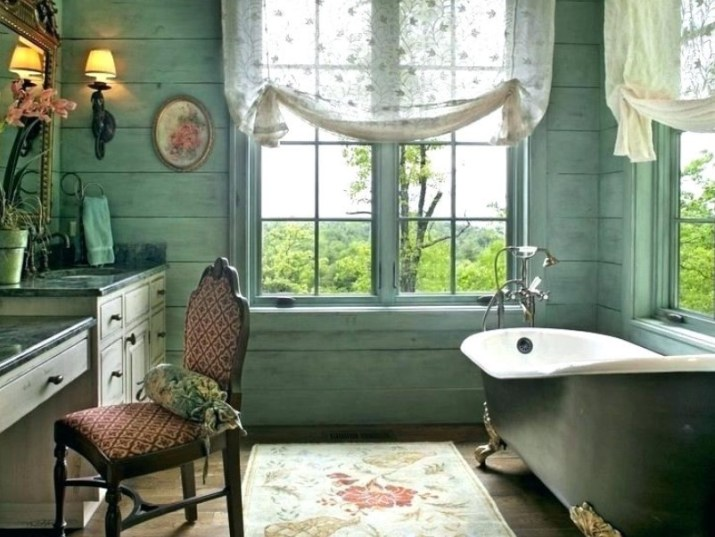 Bathroom Curtain Ideas to Live up Your Private Room 11