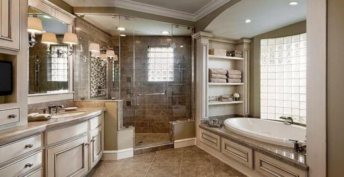15 Inspiring Master Bathroom Ideas That Will Awe You! 1