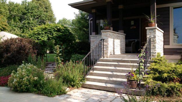 garden design landscape wisconsin madison