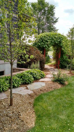 garden design wisconsin landscape sustainable arbor