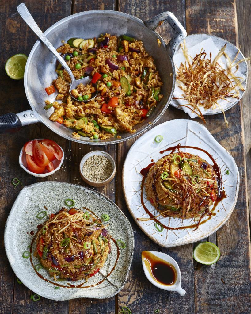 Nasi Goreng Vegetarian : goreng, vegetarian, Vegan, Goreng, (Indonesian, Fried, Rice), #Gazs15MinuteMeals, Avant-Garde