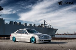 f410-mirror-turquoise-mercedes-e350-sidefront