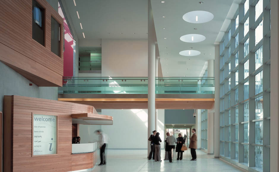 The Construction And Development History Of A Hospital Becad Central Middlesex Hospital Avanti Architects