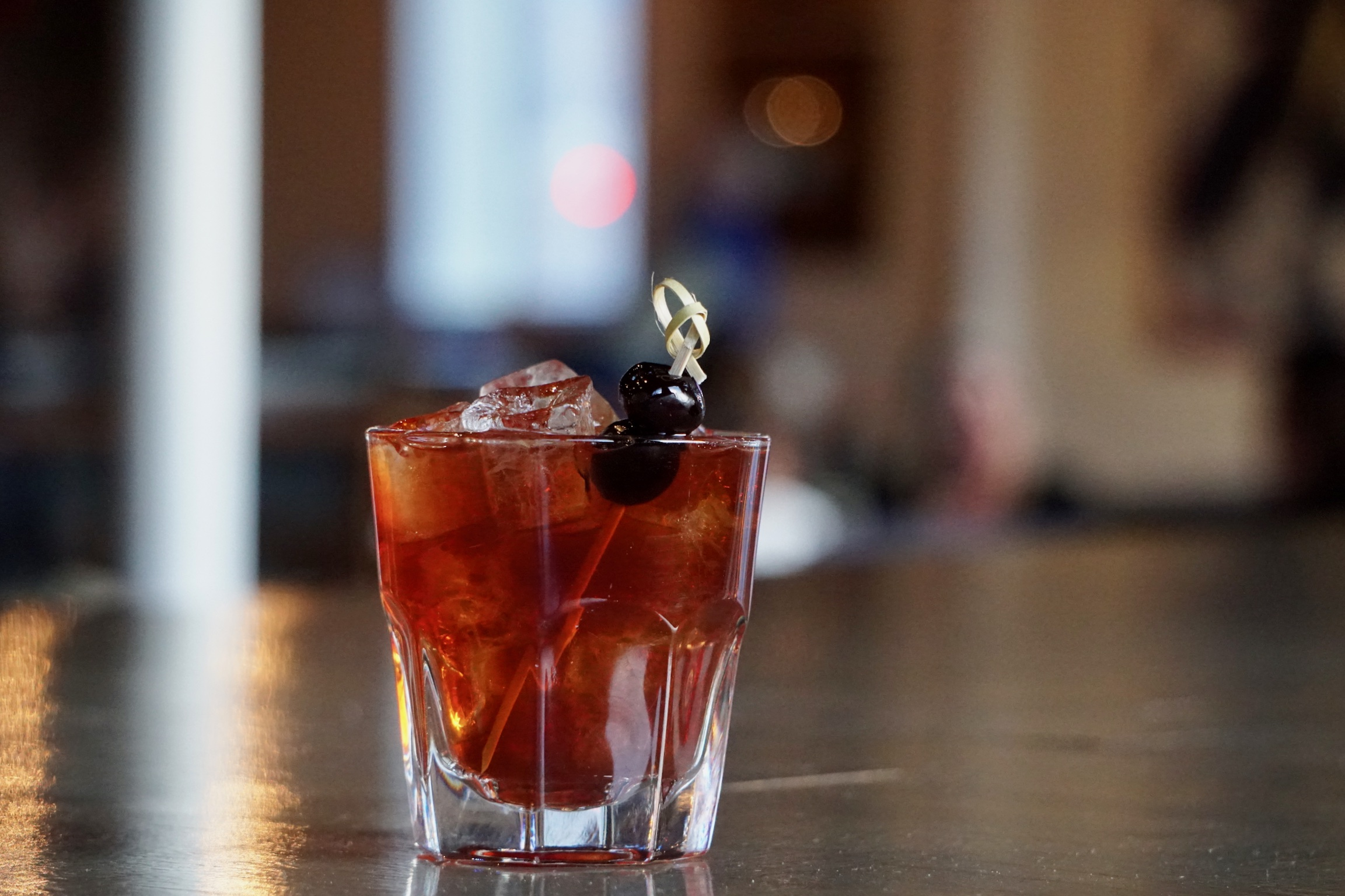 The Black Manhattan  Avanti Food  Beverage