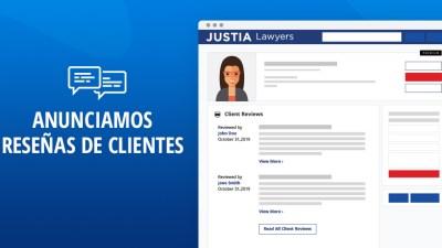El Directorio de Abogados de Justia Ahora Publica Reseñas de Clientes