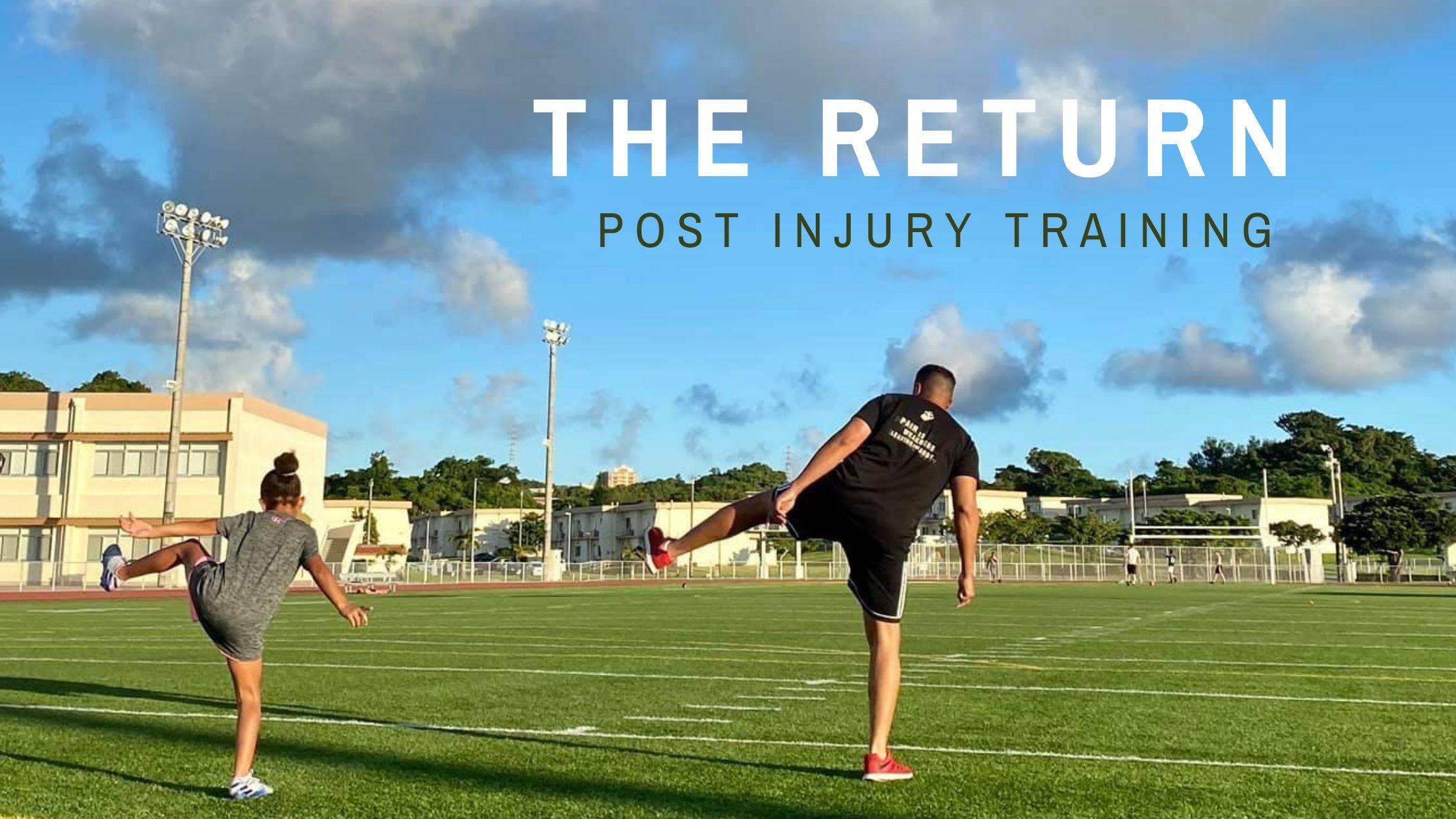 The Return - Post Injury Update