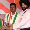 Youth Animal Rights & Environment Protection Activist Honored with Indian ICON Award from the hands of S. P. Singh Oberoi (Chairman of Apex Group of Companies (1)