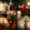 पवई बेंगाली वेल्फेअर असोसिएशन साजरा करत असणाऱ्या दुर्गापूजामध्ये मंगळवारी, सप्तमीच्या दिवशी महिलांनी ढाकच्या तालावर पारंपारिक पद्दतीने धुनुची नृत्य करत देवीची आराधना केली.