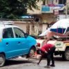traffic police action