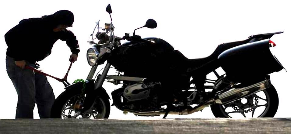 मोटारसायकल चोरी