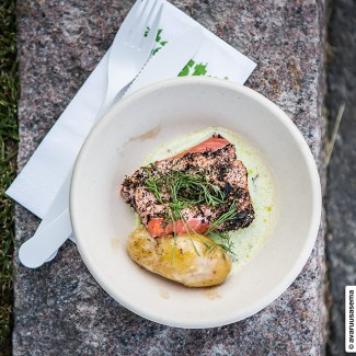 Taste of Helsinki 2015 - Bröd - kirjolohi, © avaruusasema.com