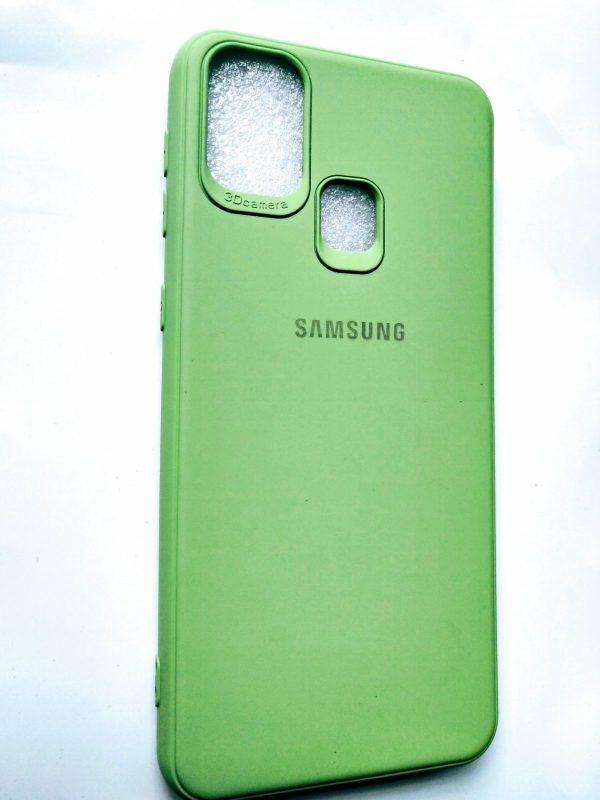 Samsung Galaxy M31 Cover Green Colour - Dimond Green