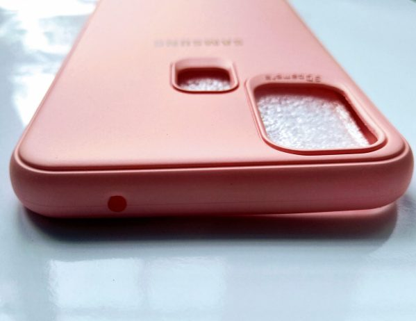 Samsung Galaxy M31 Cover Pink Colour - Dimond Pink