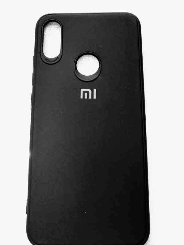 Xiaomi Redmi Note 7, Note 7 Pro, Note 7S Leather Mate Back Cover - Black Colour