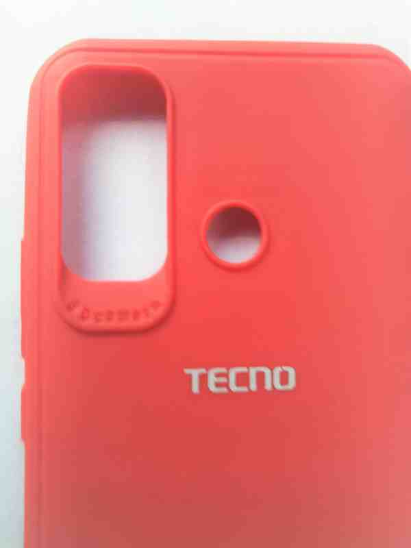 Infinix Hot 9 Premium High Quality Back Cover - Red Colour