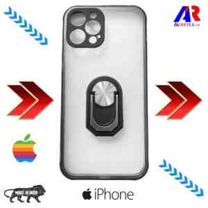 iPhone 12 Pro Back Cover With Camera Bump Protector (Black Color) | iPhone 12 pro Smoke back cover