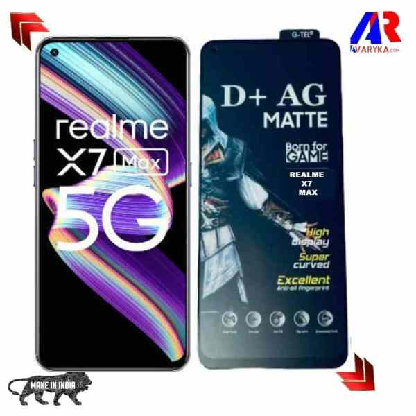 Realme X7 Max Gaming Matte Tempered Glass