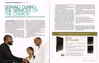 Deacon and Deaconesses Article