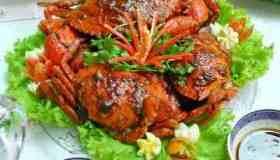Crab roasted tamarind