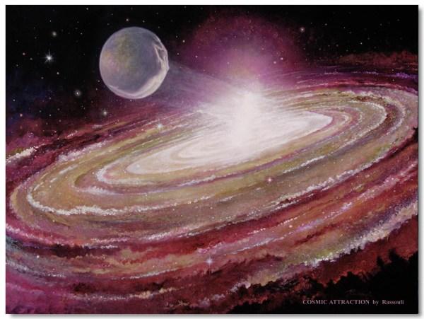 Mystical Cosmic Abstract Art