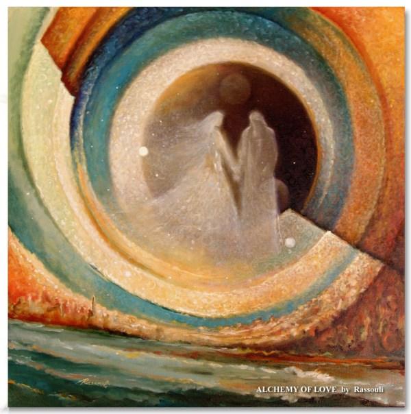 Art Of Rassouli Spiritual Paintings Mystical Artwork