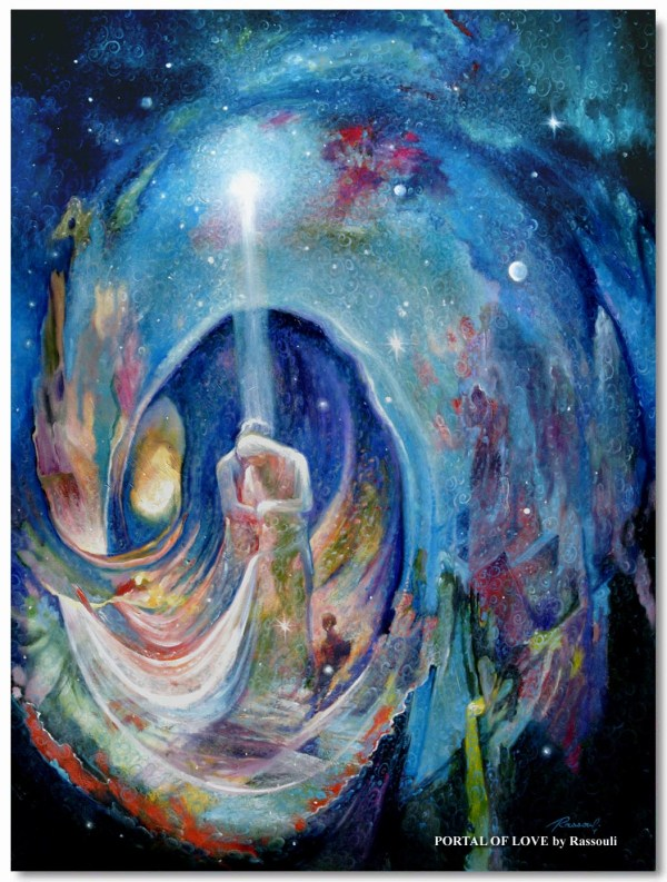 Spiritual Paintings Modern Mystical Art Rassouli