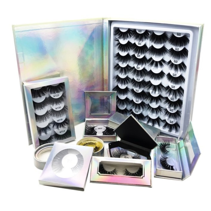 many different 3D mink lashes