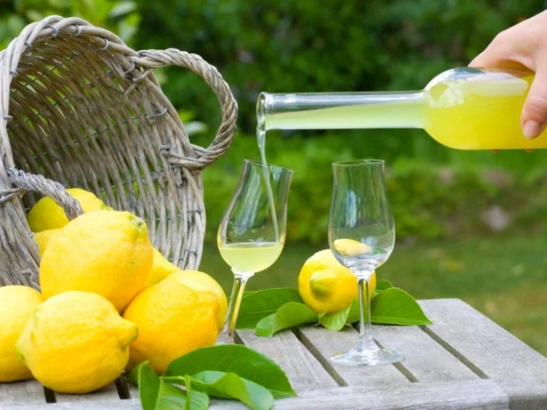 Lemoncello дұрыс ішу