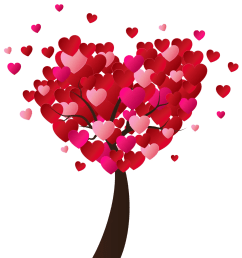 valentine s day heart tree png clip art image gallery yopriceville high quality [ 1200 x 1278 Pixel ]