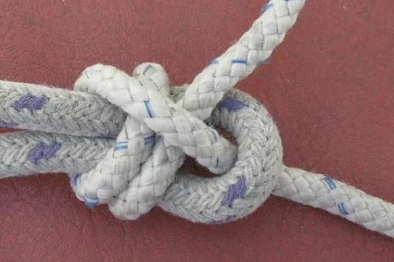 How to tie a branded knot?