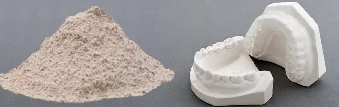 Plaster jaw casts