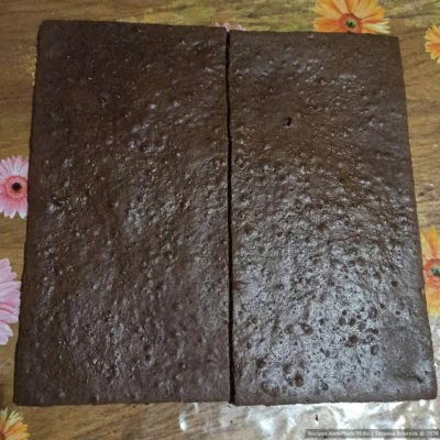 "Chocolate base for ""Milk Slice"""