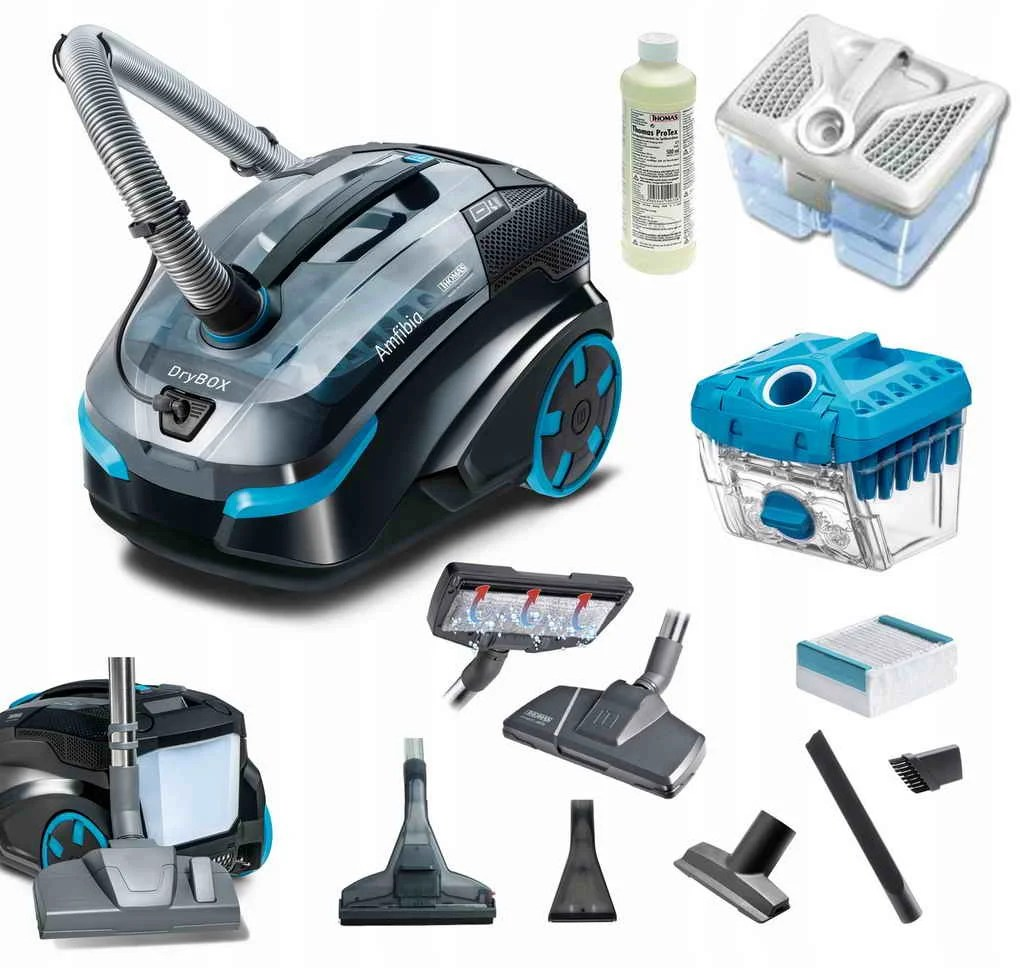 THOMAS DRYBOX AMFIBIA in the rating of vacuum cleaners 2021