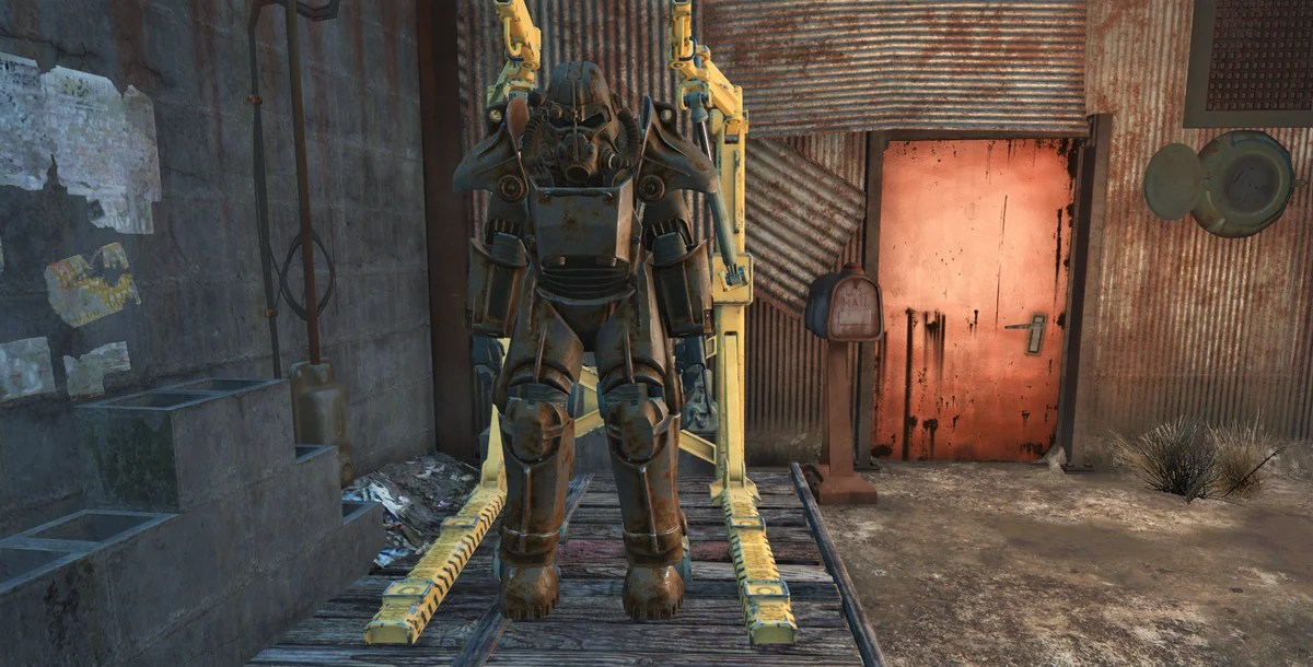 All Power Armor i Fallout 4.