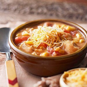 Cheesy Chicken Soup