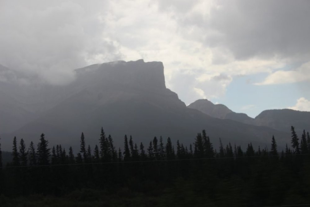 Travelling through the Rockies