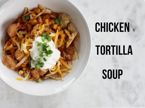 Taco Tuesday Will Never Be The Same: Chicken Tortilla Soup