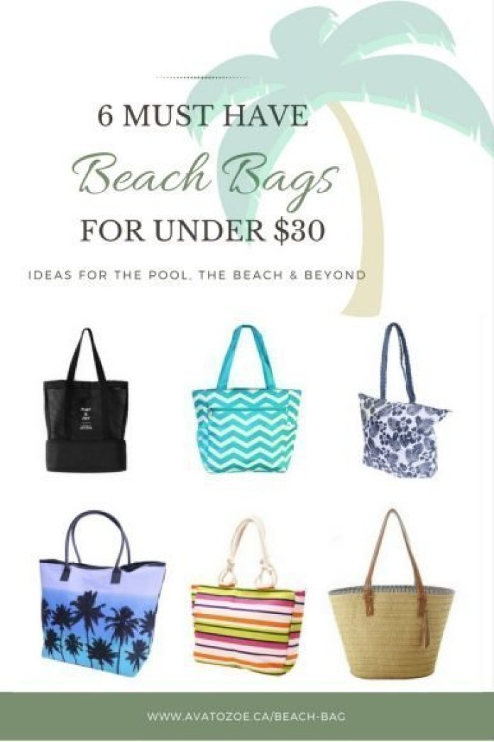 6 Must Have Beach Bags!