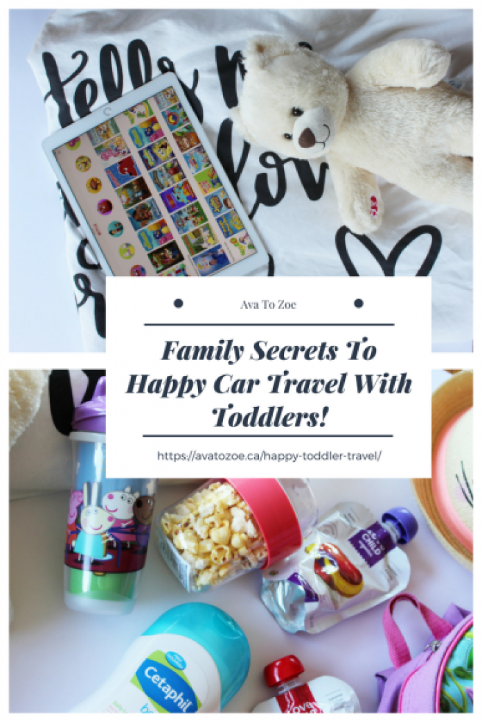 Family Secrets To Happy Car Travel With Toddlers! 6