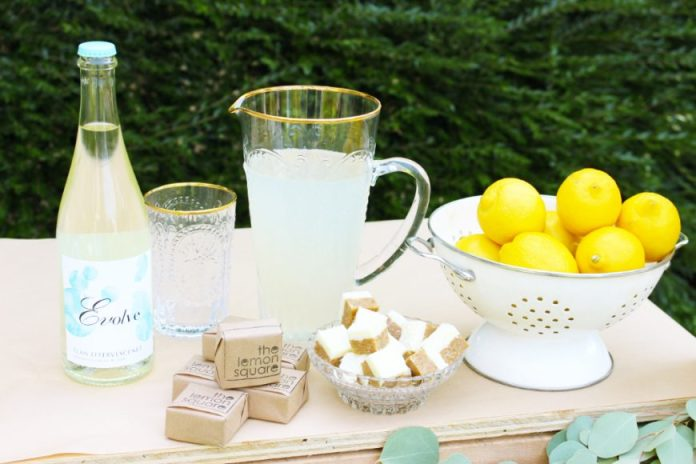 A Grown Up Twist On A Childhood Classic- Lemonade Mimosa 7