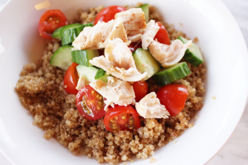 Quinoa Lunch With Chicken Recipe