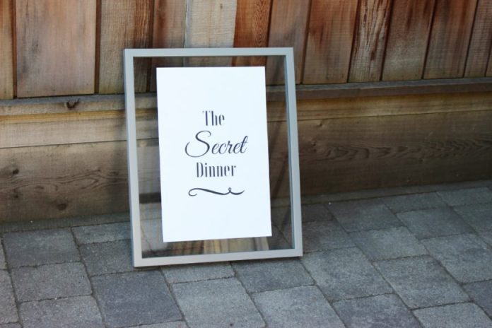 The Secret Dinner: A Night To Inspire! 1