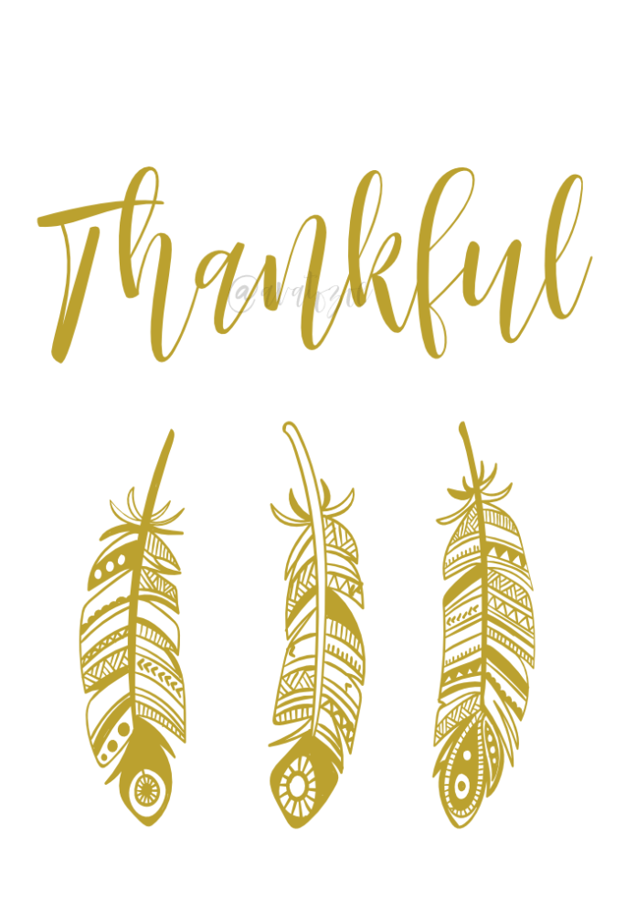Thankful Feather Print Download Your Free Print Today!
