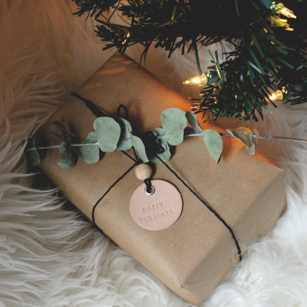 Genuine Leather Ornament & Gift Tag 2
