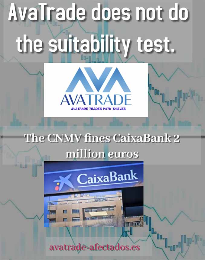 AvaTrade does not do the suitability test