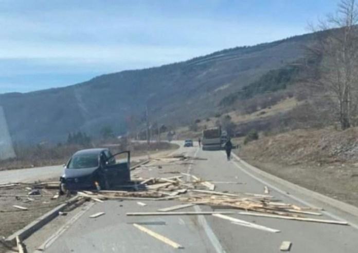 Saobraćajna nesreća u Šujici